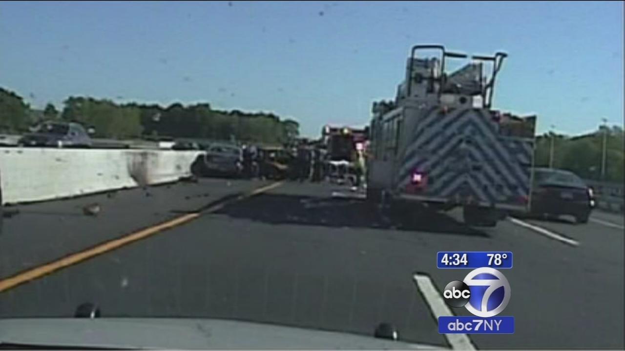 Dashcam video shows taxi crash scene where John Nash was killed