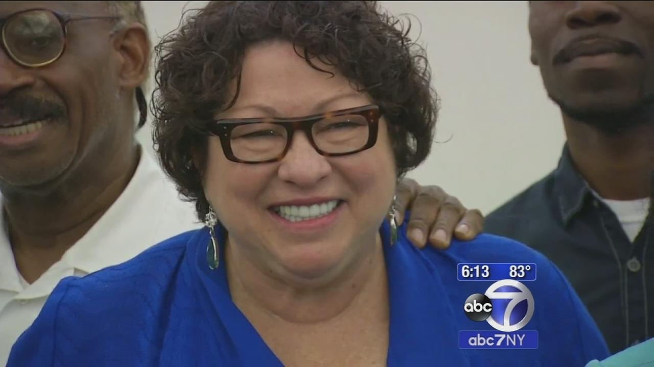 Supreme Court Justice Sonia Sotomayor heads to Bronx for dream big day