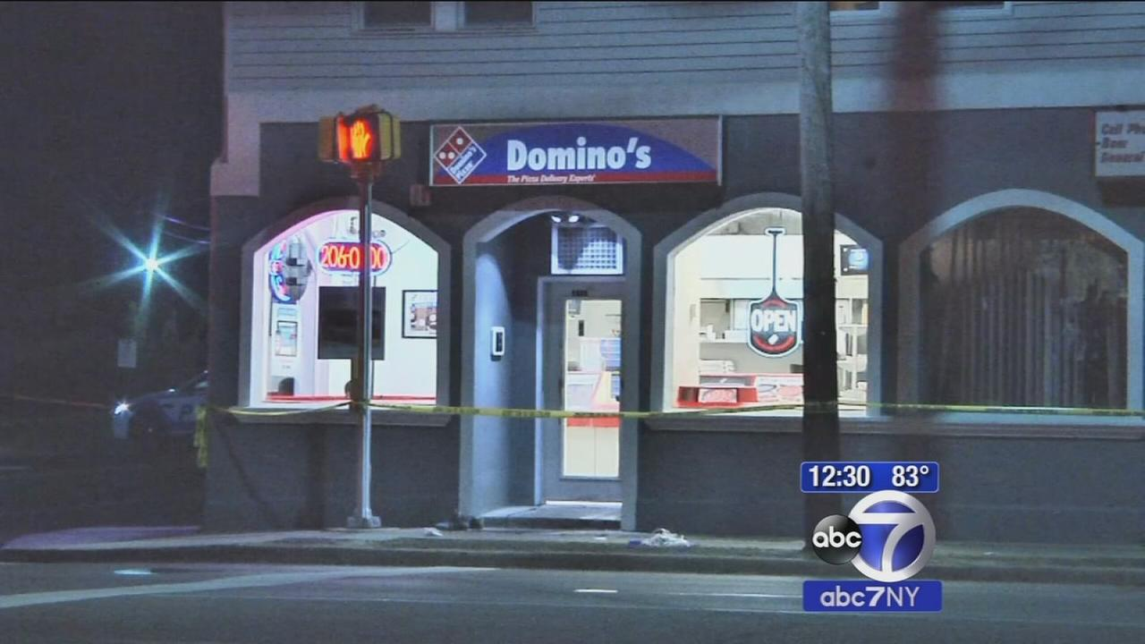 Man found shot in Bay Shore outside Dominos
