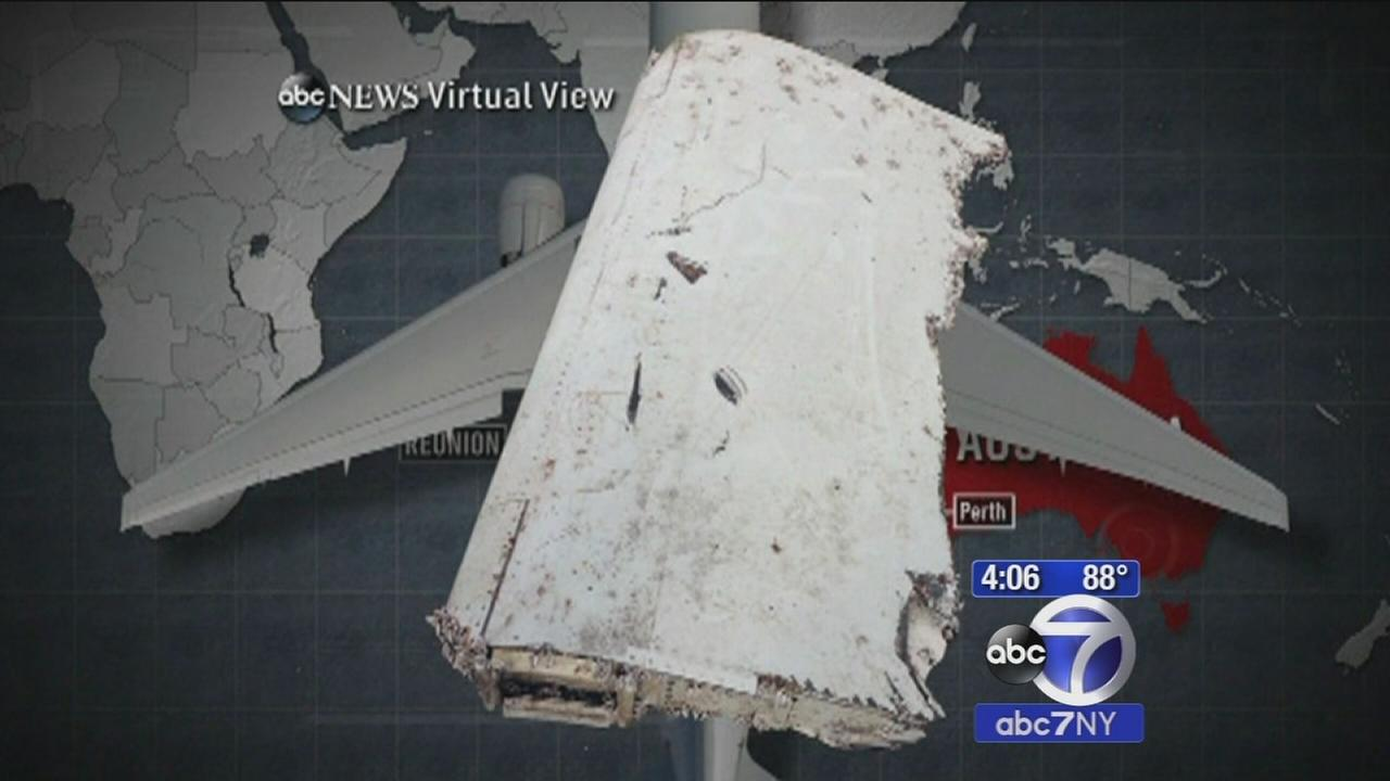 Hopes high wing flap will shed light on missing Malaysian Airlines plane