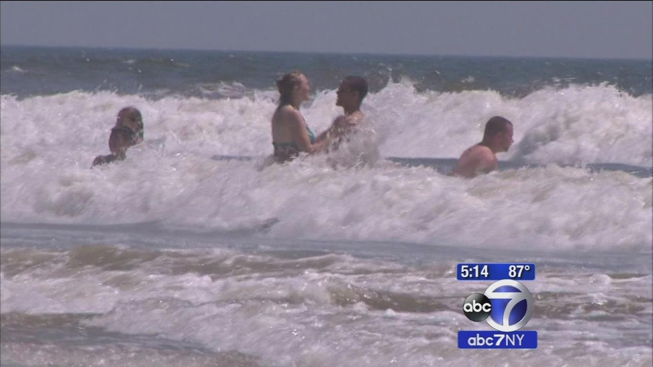 Warning about dangerous rip currents at local beaches