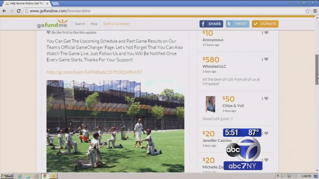 Brooklyn Little League team hopes to raise enough money to compete