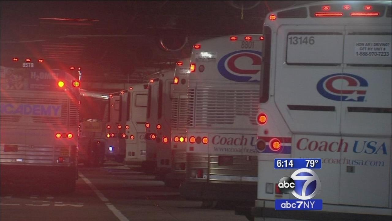 Port Authority bus terminal gate assignments changing to reduce crowding