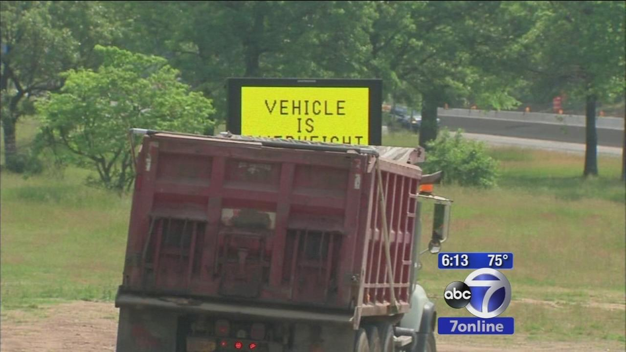 New system would warn truckers about low overpasses