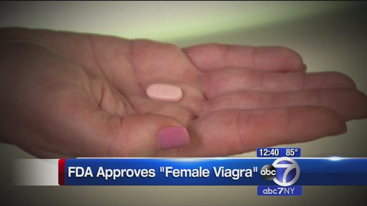 FDA approves female viagra