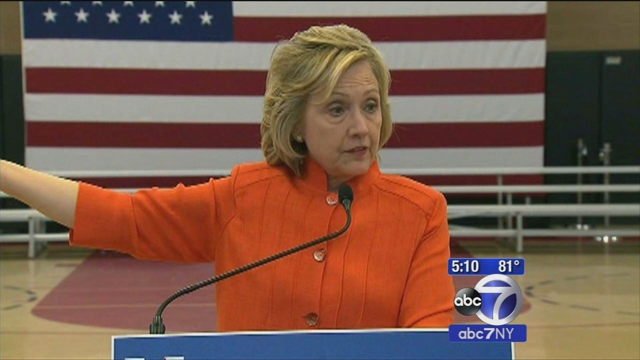 Poll shows Hillary Clinton with lowest numbers so far, Trump within striking distance