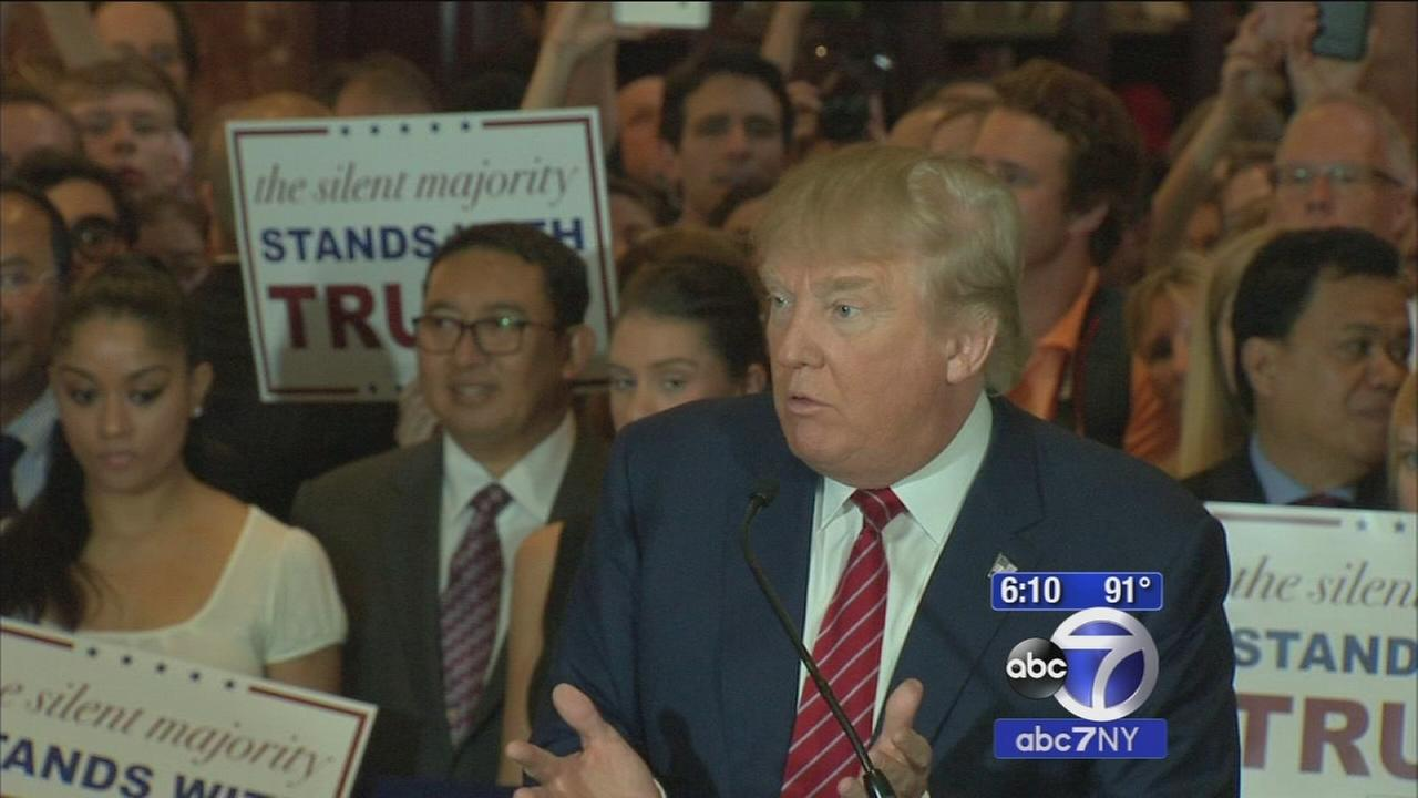 Donald Trump signs GOP loyalty pledge, would forego potential third party bid