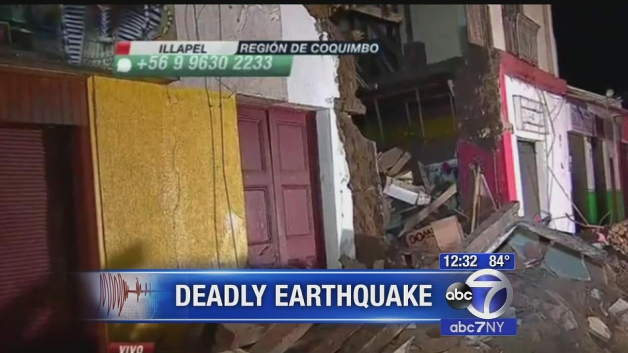 Chile digs out from under earthquake mess