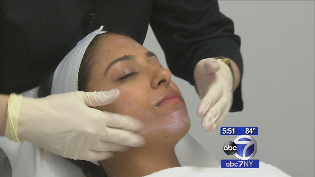 Using peels and products to even out summer skin tone damage