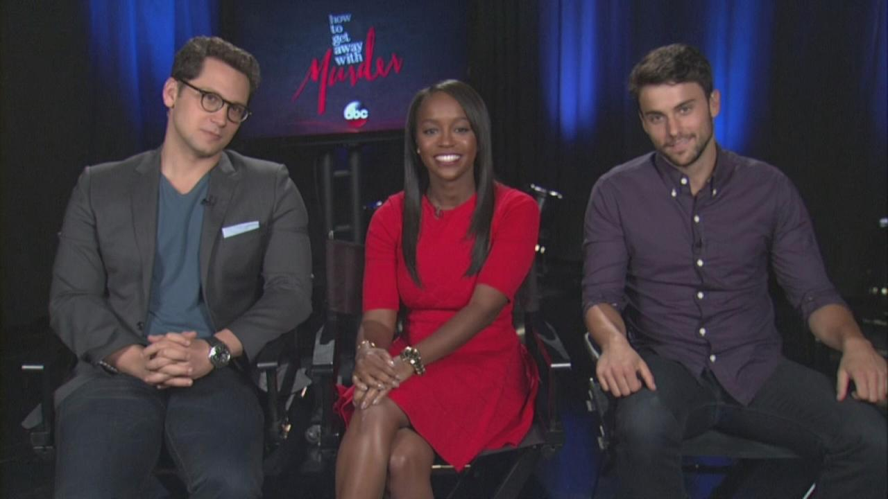 How to Get Away with Murder stars talk about season 2 premiere