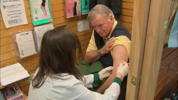 Report: End of October is best time for flu vaccinations