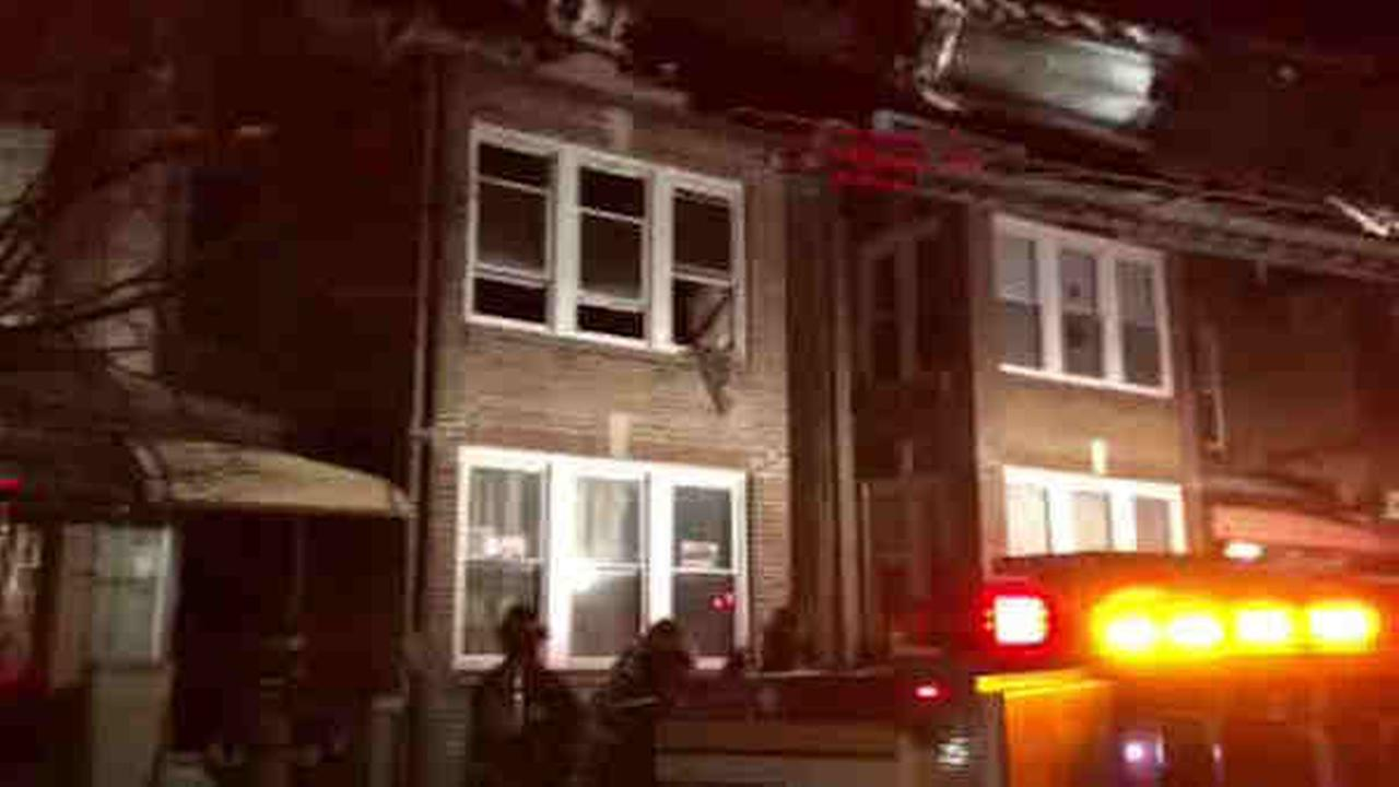 A heater appears to have exploded and sparked a fire, according to the New York City Fire Department.