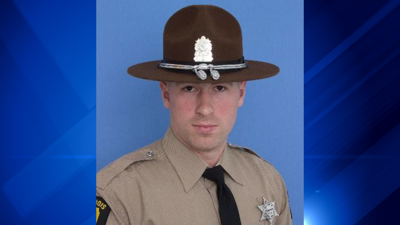 Illinois State Police Trooper Chris Lambert