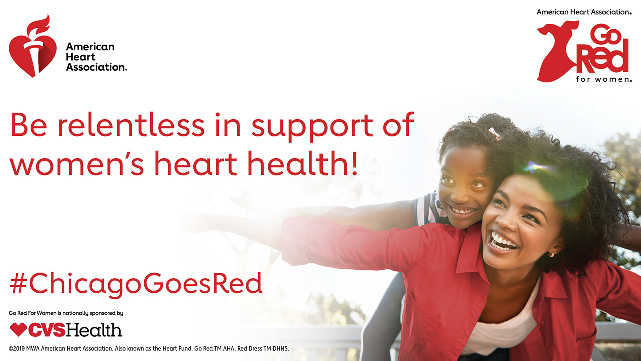 American Heart Association's Go Red for Women luncheon highlights fight against heart disease