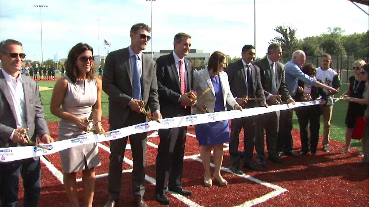 Kerry Wood Cubs Field opens in Avondale