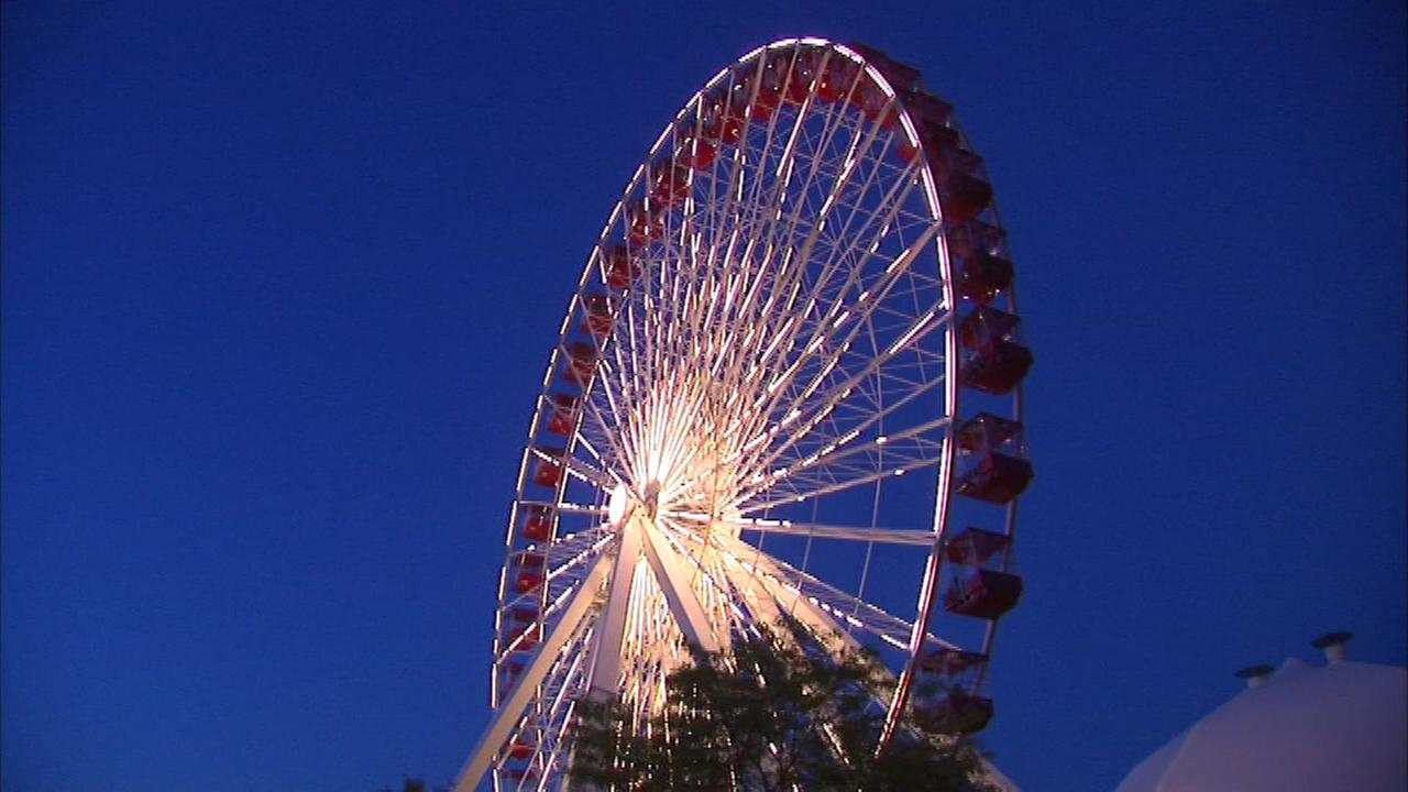 The iconic Navy Pier Ferris shut down at Sunday night after 20 years to make way for a new one to be in place next summer.