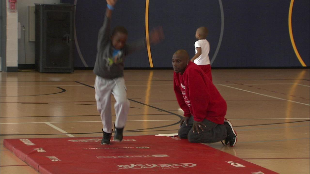 Tryouts were held for the famous Jesse White Tumblers Saturday.