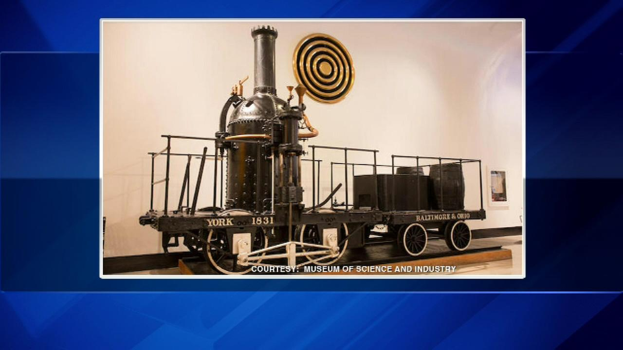 Antique trains and replicas auctioned by the Museum of Science and Industry sold for more than expected.