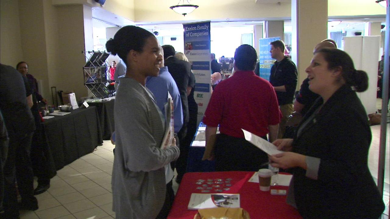 A job fair Thursday afternoon offered some life-changing opportunities for veterans.