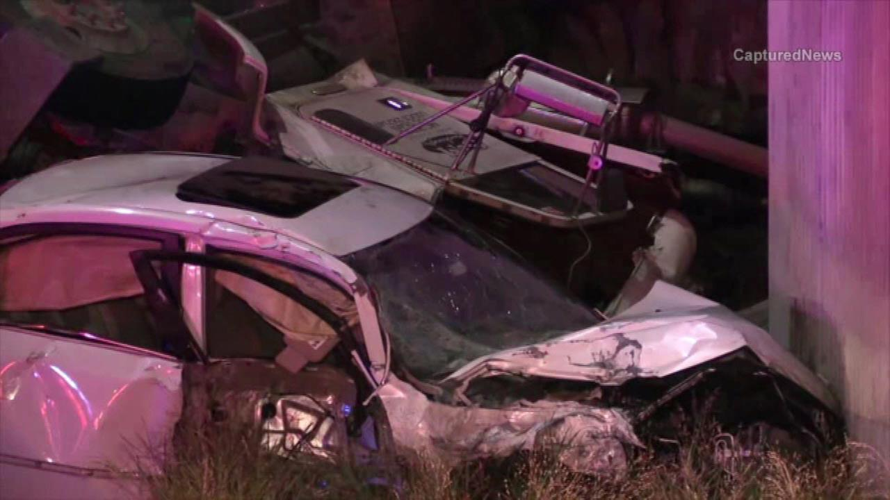 Several injured after South Side crash involving 2 trucks, 1 car