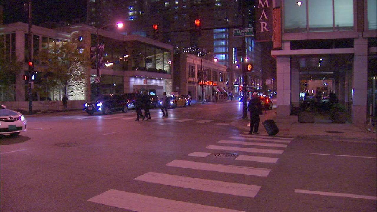 In three separate cases, people were robbed last week between the 400 and 600 blocks of N. State Street, police said.