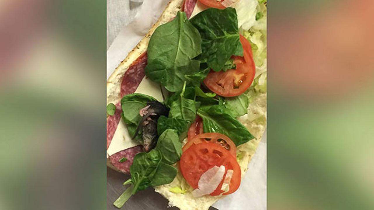 An Oregon man said his friend discovered a rodent inside a sandwich at a Subway restaurant.