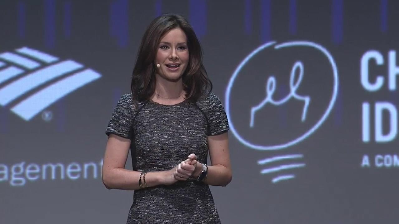 ABC News Chief Business and Economics Correspondent Rebecca Jarvis took part in a discussion about Chicago Ideas Week.