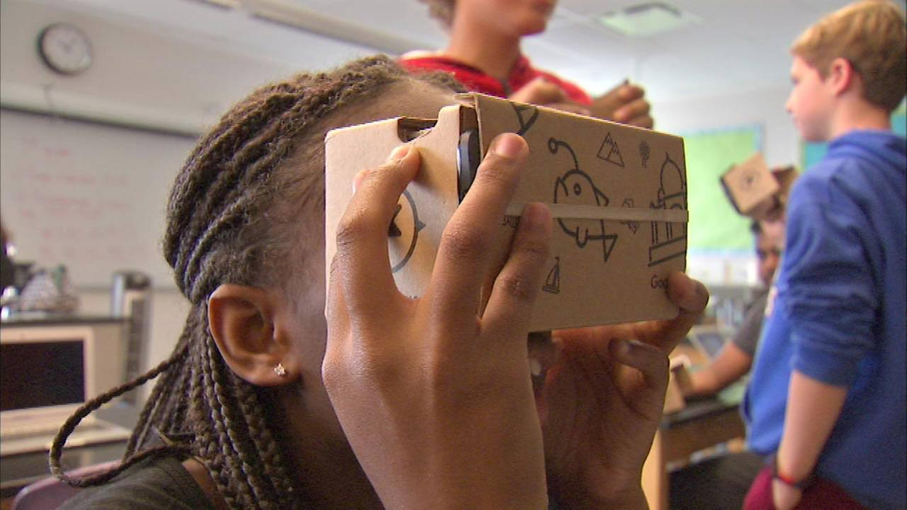 Google Expedition comes to West Side school