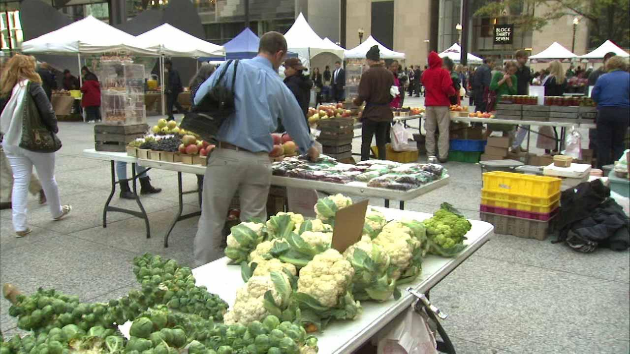 Daley Plaza Farmers Market celebrates Chicago Food Day