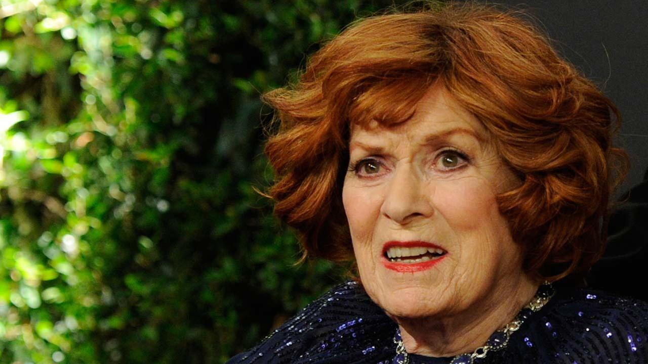 Maureen OHara arrives at the 6th annual Governors Awards at the Hollywood and Highland Center on Nov. 8, 2014 in Los Angeles.