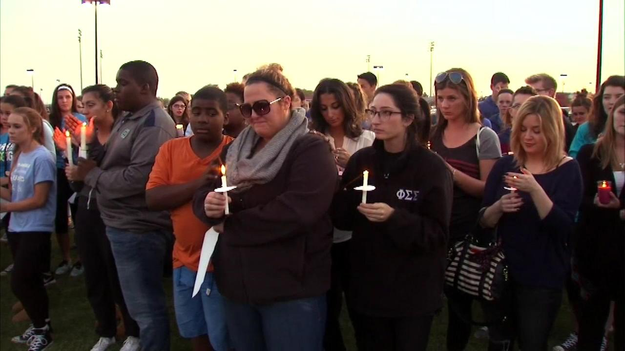 Family, friends and students gathered in Naperville Saturday morning for the wake for Sue Cunningham.