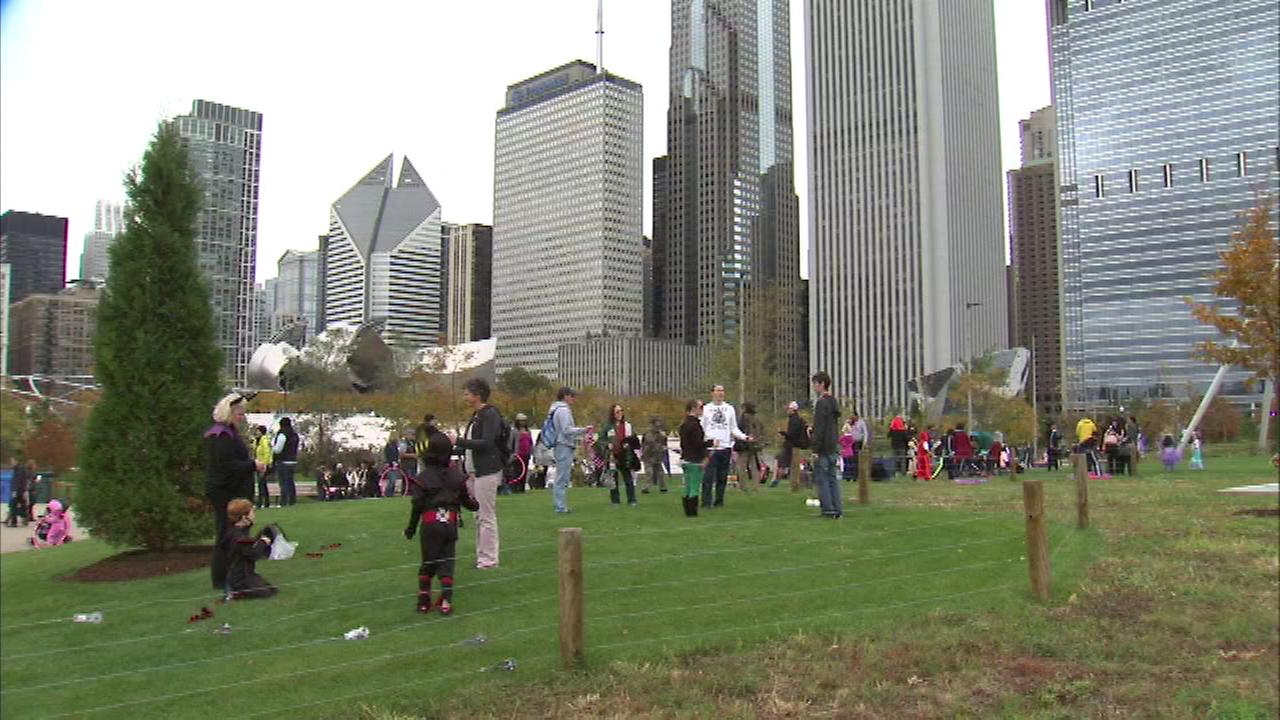 Halloween festival, parade held at Maggie Daley Park