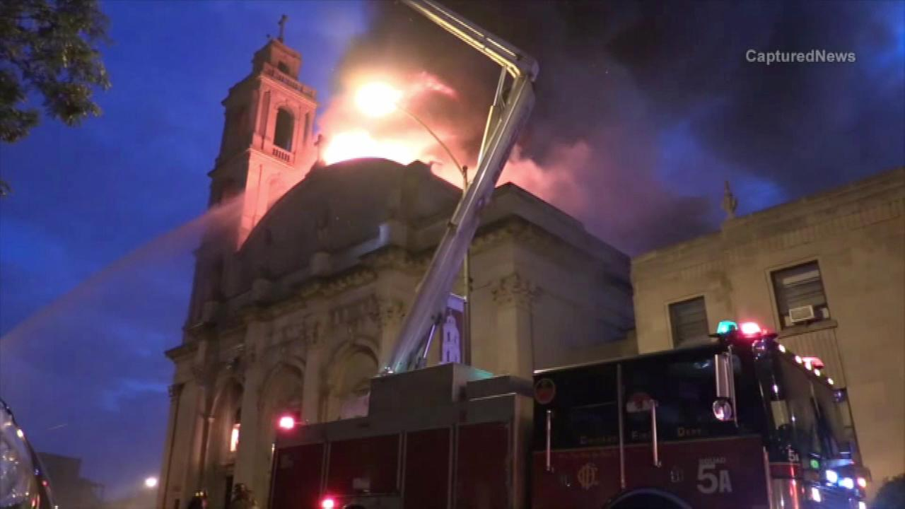 Christ the King raising money online to rebuild after fire