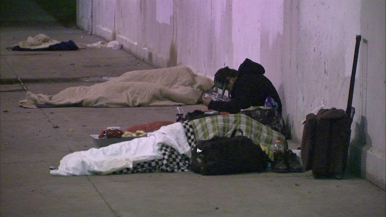 Emanuel focuses on helping homeless veterans during event
