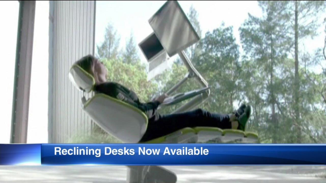 Altwork Station allows you to recline while you work