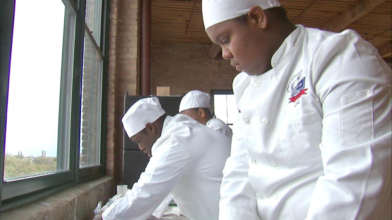 CPS students create healthy meals for their peers