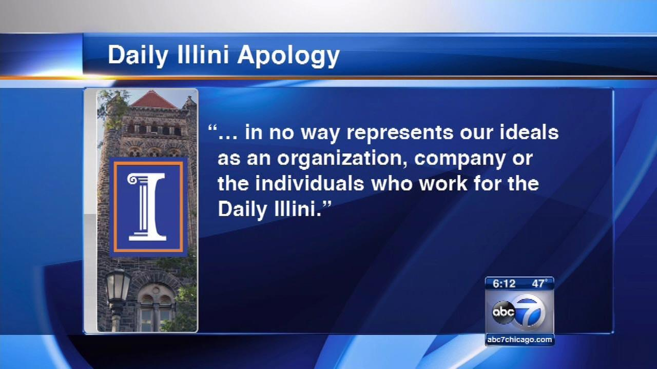 The Daily Illini apologizes for syndicated cartoon