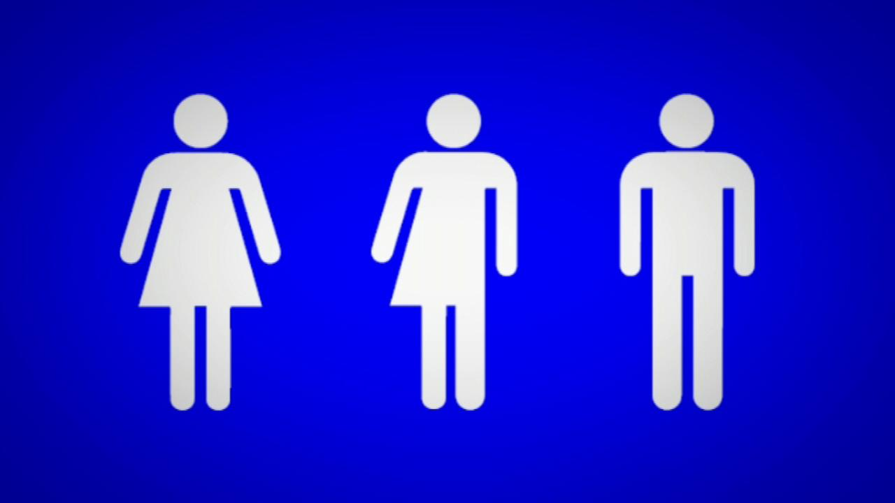 Gender neutral bathroom signs going up in Evanston.