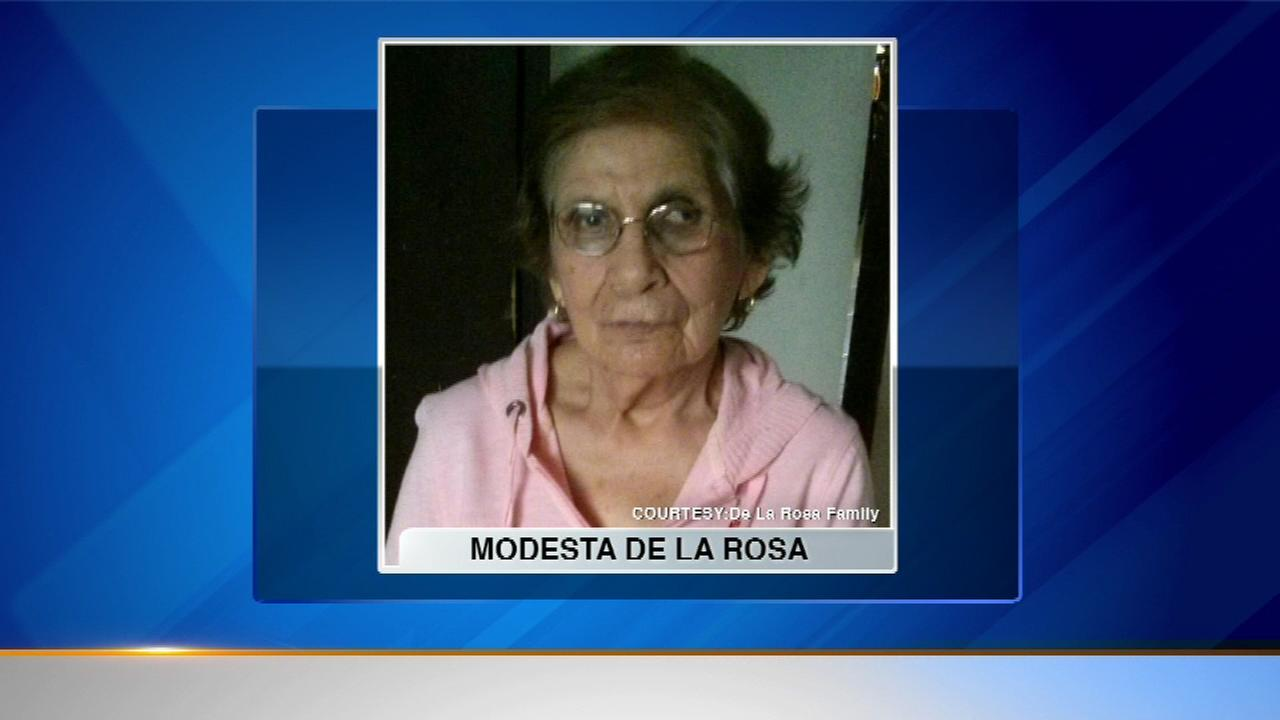 Modesta De La Rosa fatally hit by a truck while walking in suburban Bensenville.
