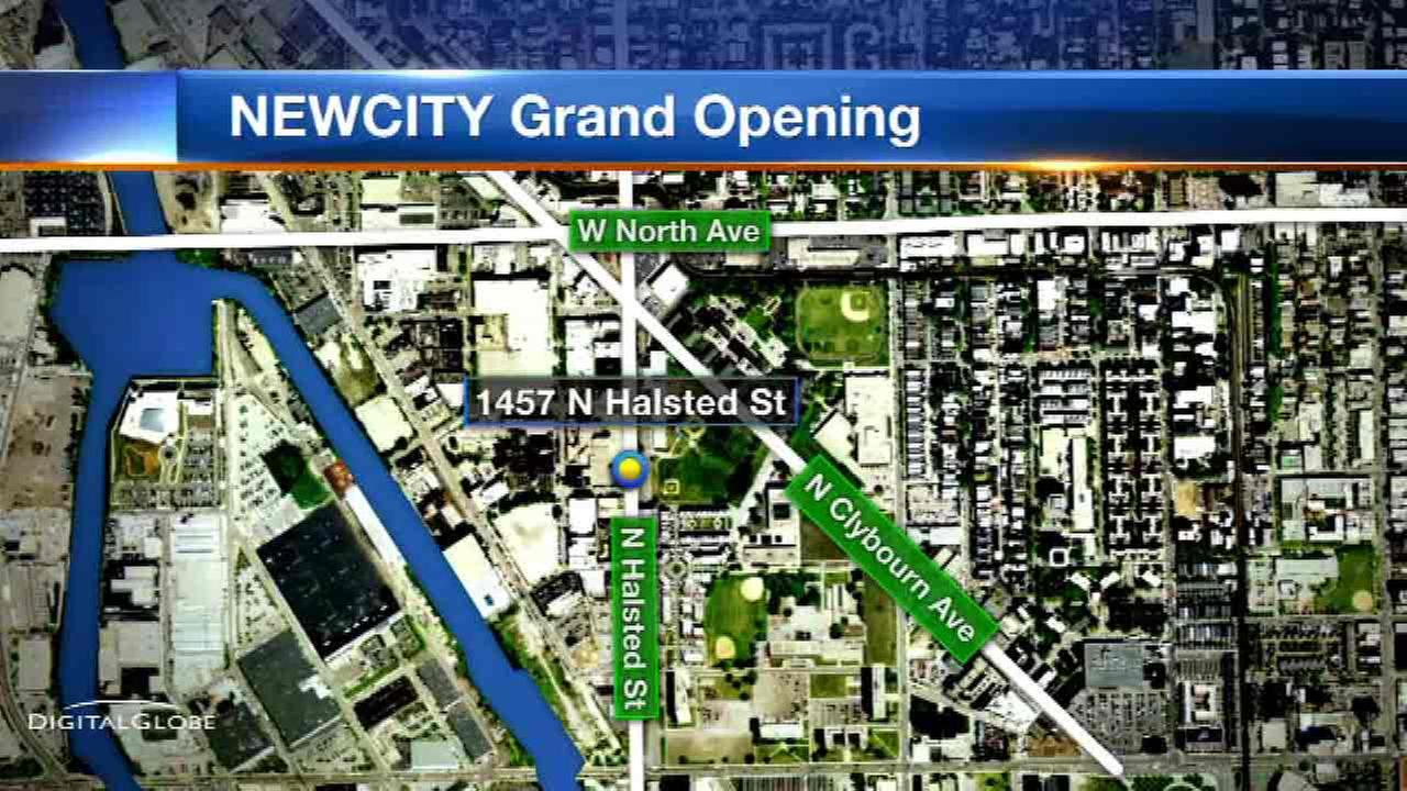 Newcity development opens in city's North Side