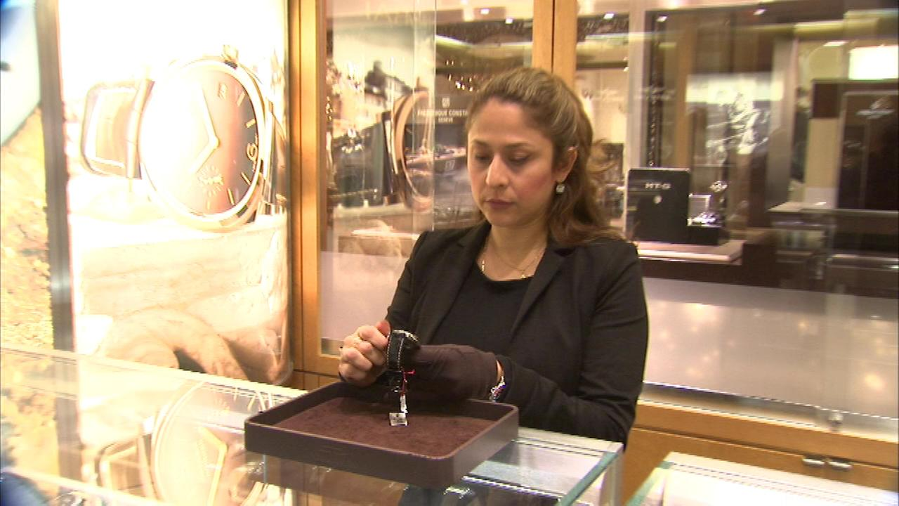 The people at Tourneau on Michigan Avenue are getting a jump on daylight saving time Saturday.