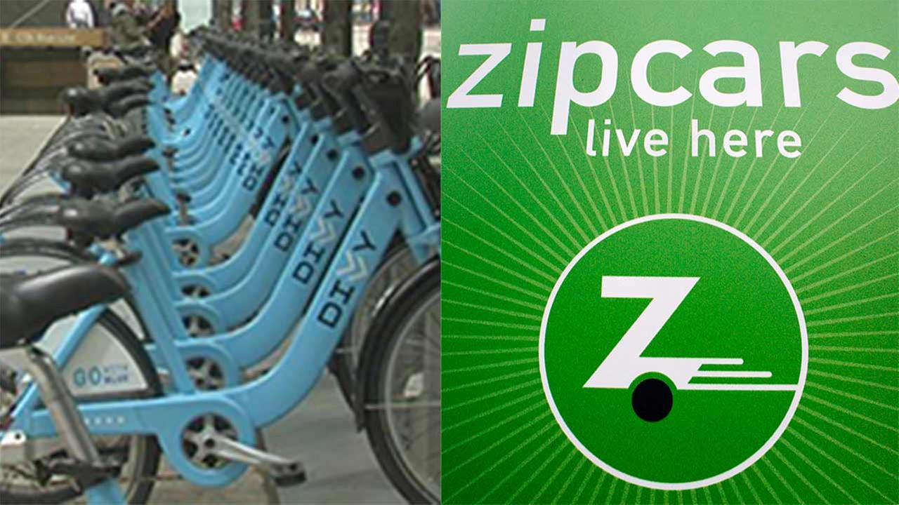 Zipcar, Divvy partner for bike and car sharing offer