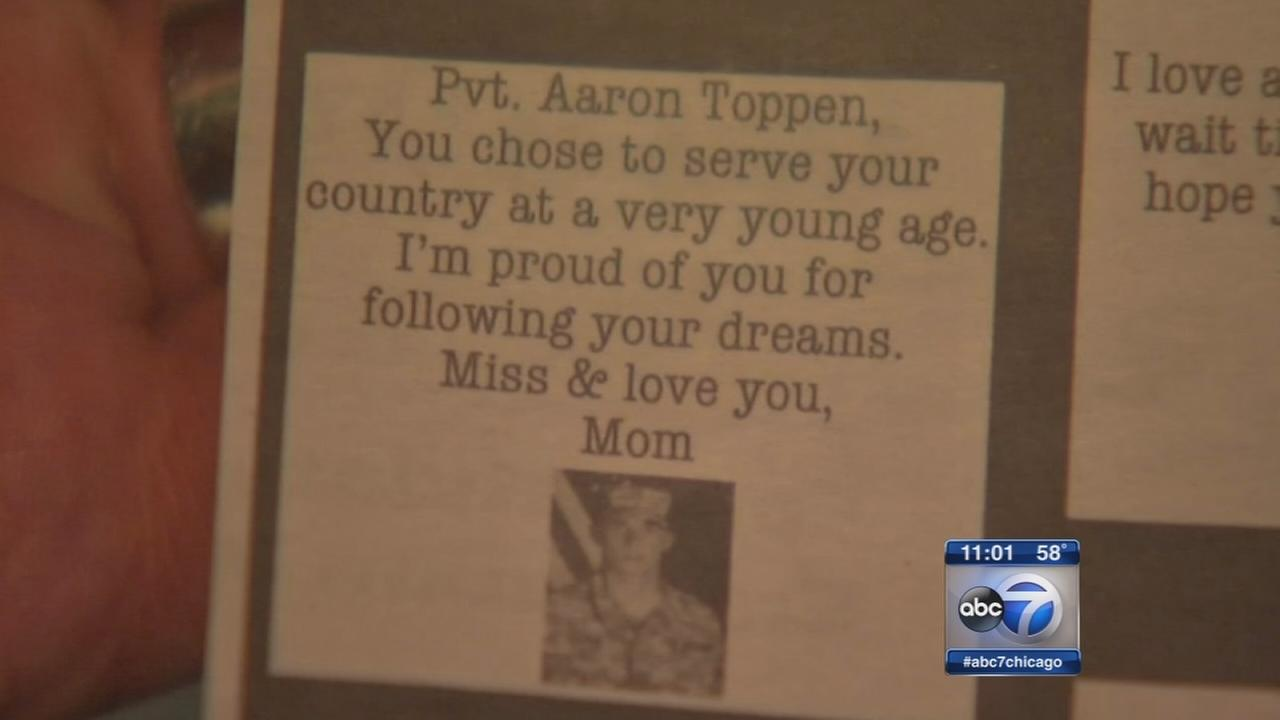 Aaron Teppen of Mokena killed by friendly fire in Afghanistan