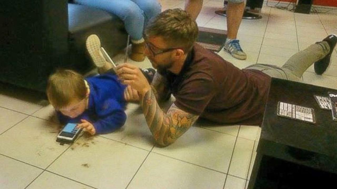 Welsh barber Jim Williams gives a 3-year-old boy with autism his first haircut.