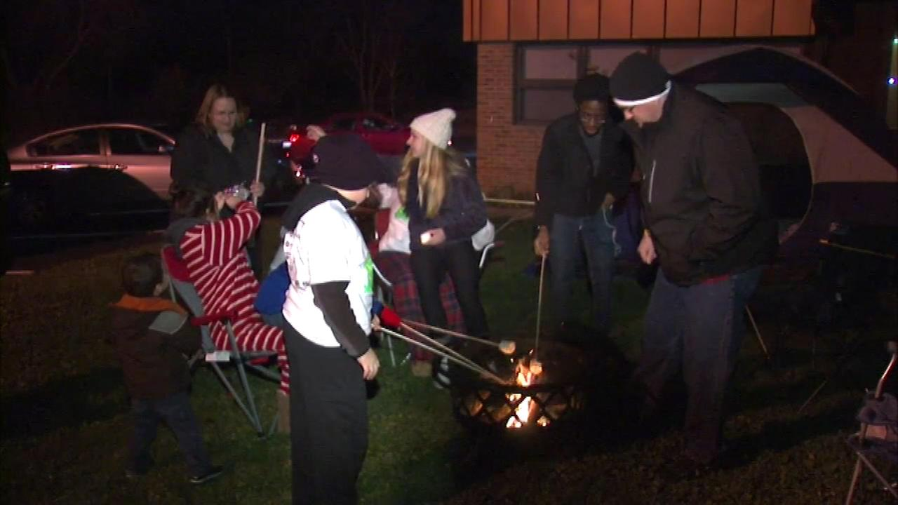 Outdoor sleepover to raise money for homeless