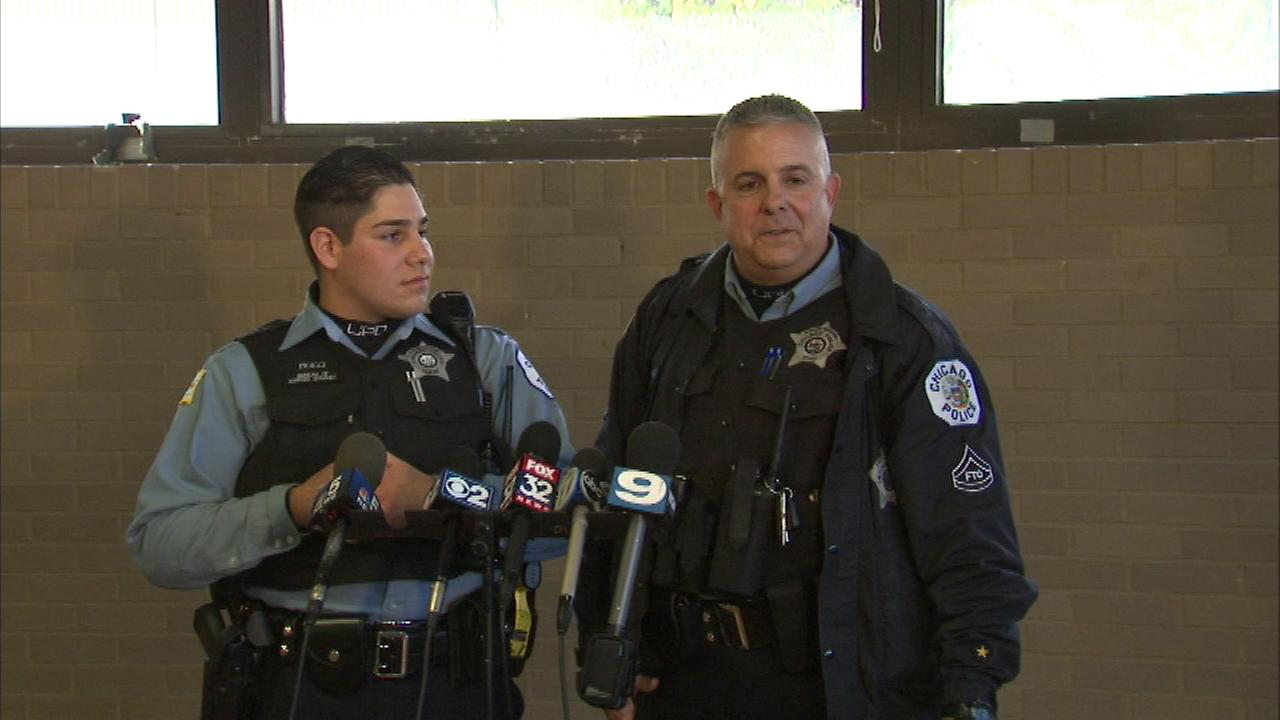 CPD Officers Robert Cavaiani and Nicholas Picicci