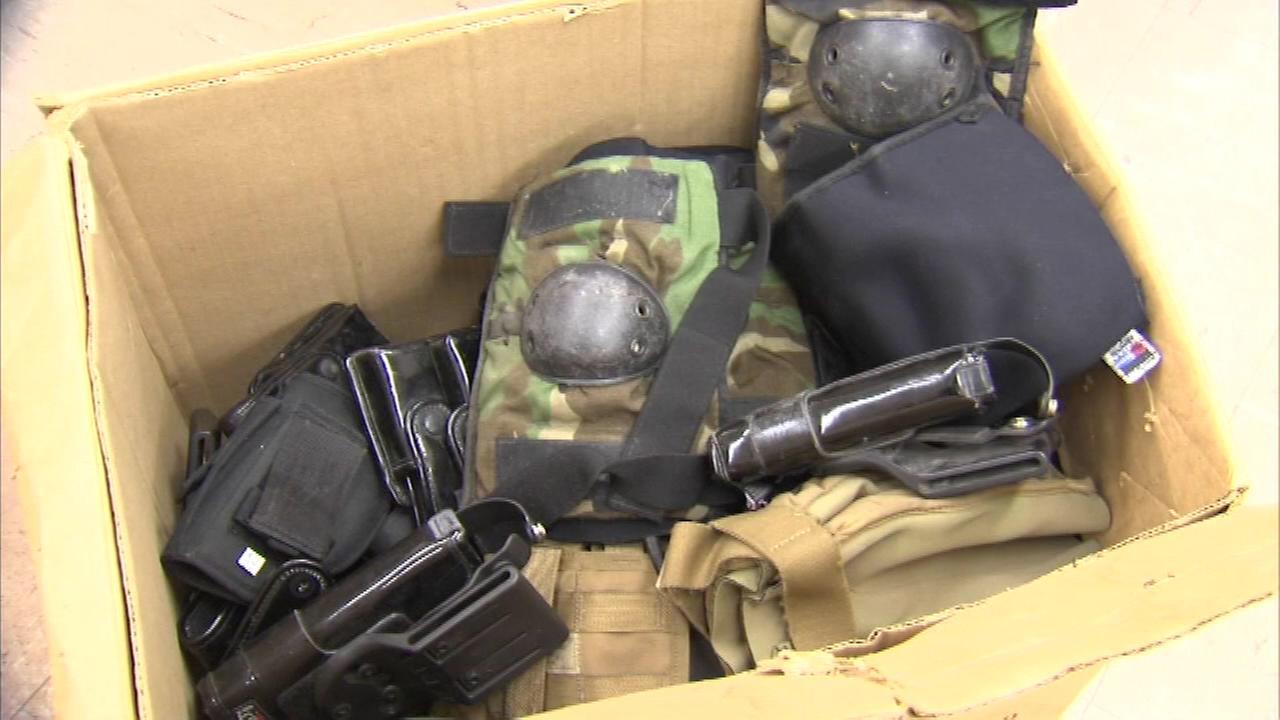 gliniewicz military equipment