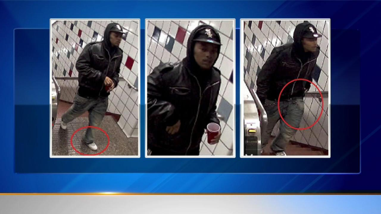 Police release surveillance images of suspect in Red Line sex assault