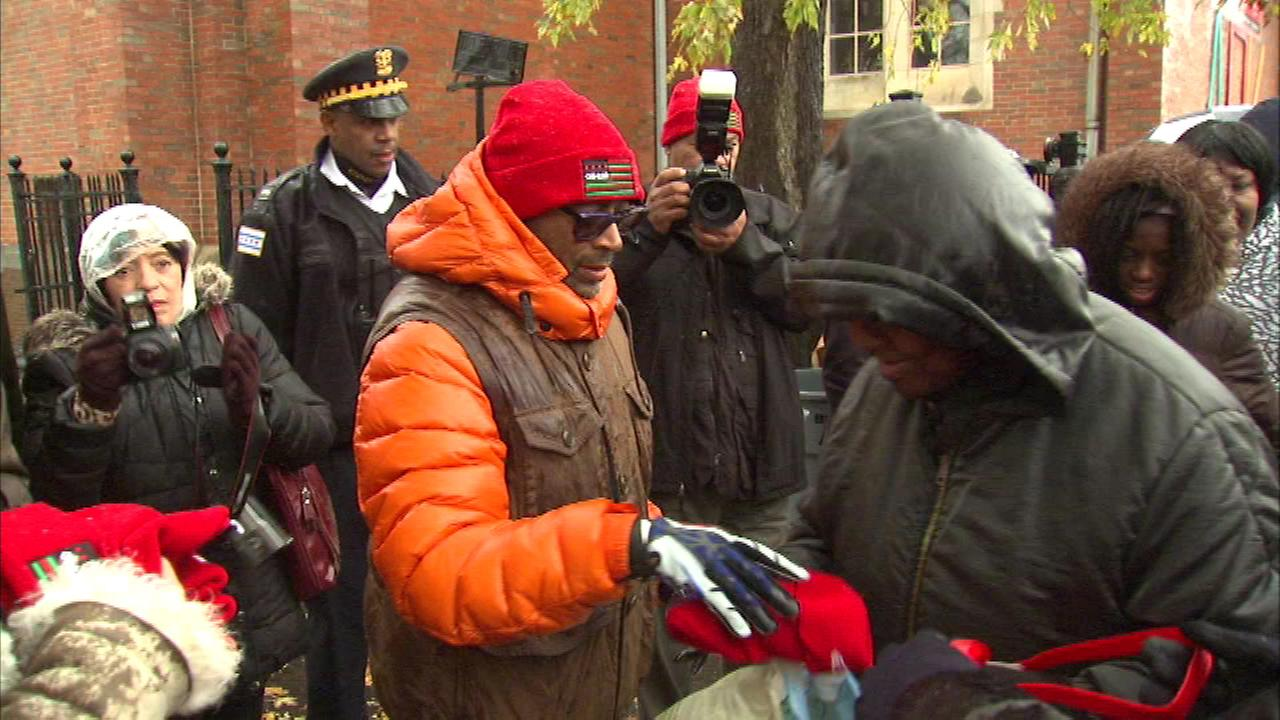 Director Spike Lee is in Chicago for the premiere of his new movie, Chi-raq, which was shot in the city this summer.