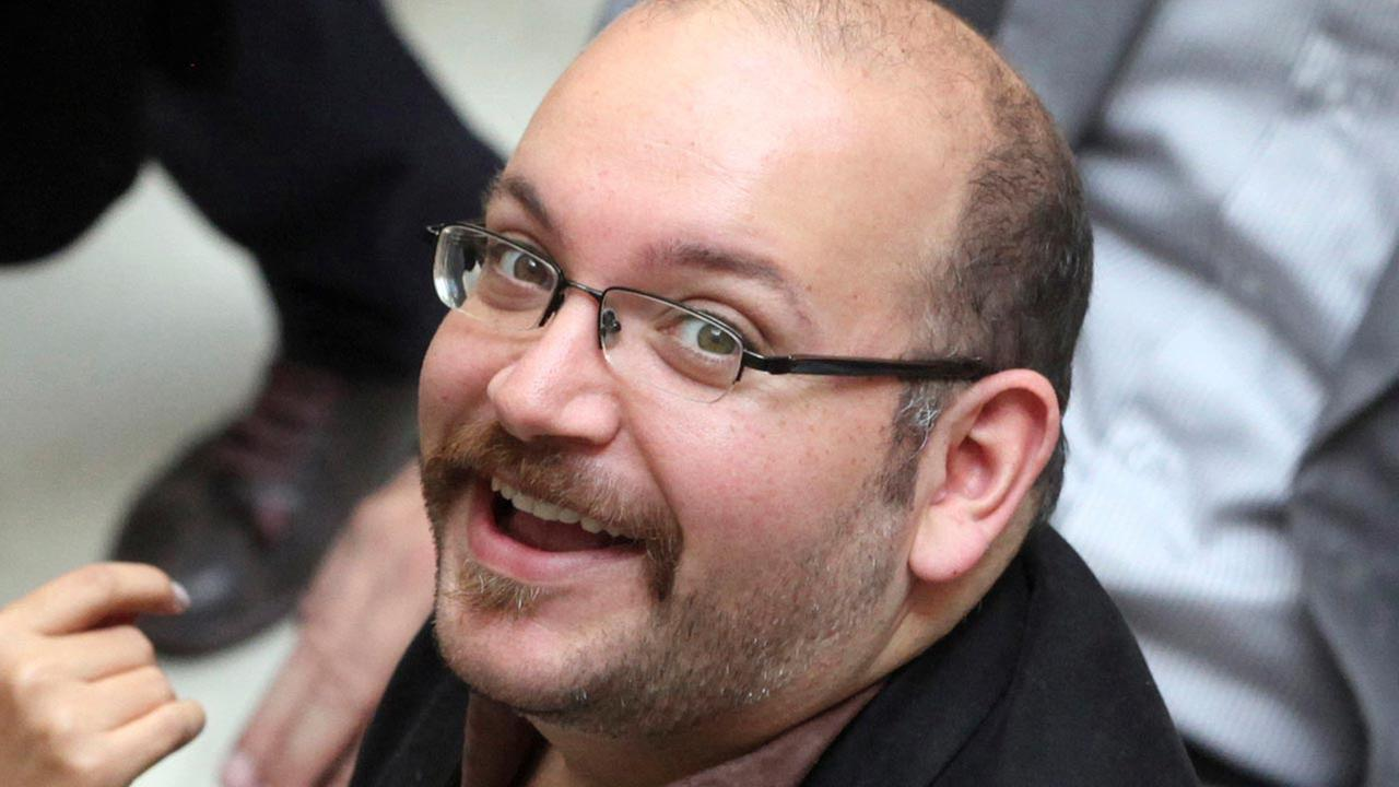 FILE - In this photo April 11, 2013 file photo, Jason Rezaian, an Iranian-American correspondent for the Washington Post, in Tehran, Iran.